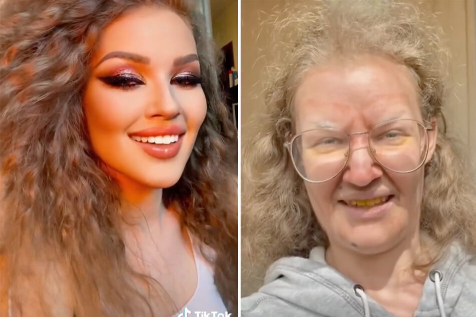 Is this the same person? Influencer wows with incredible makeup transformation