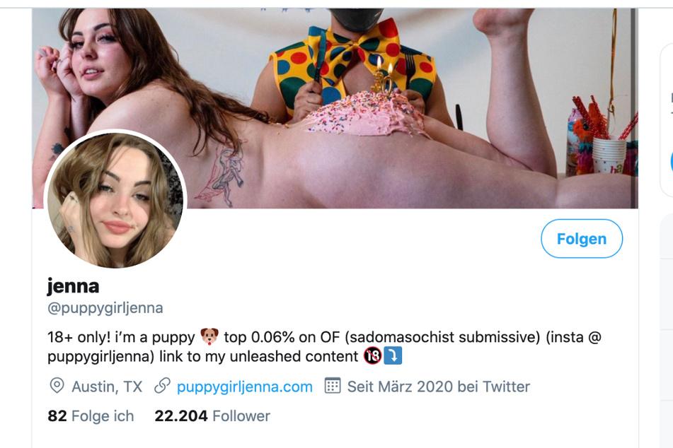 """Laut Twitter ist Jenna sadomasochistisch und """"unterwürfig""""."""