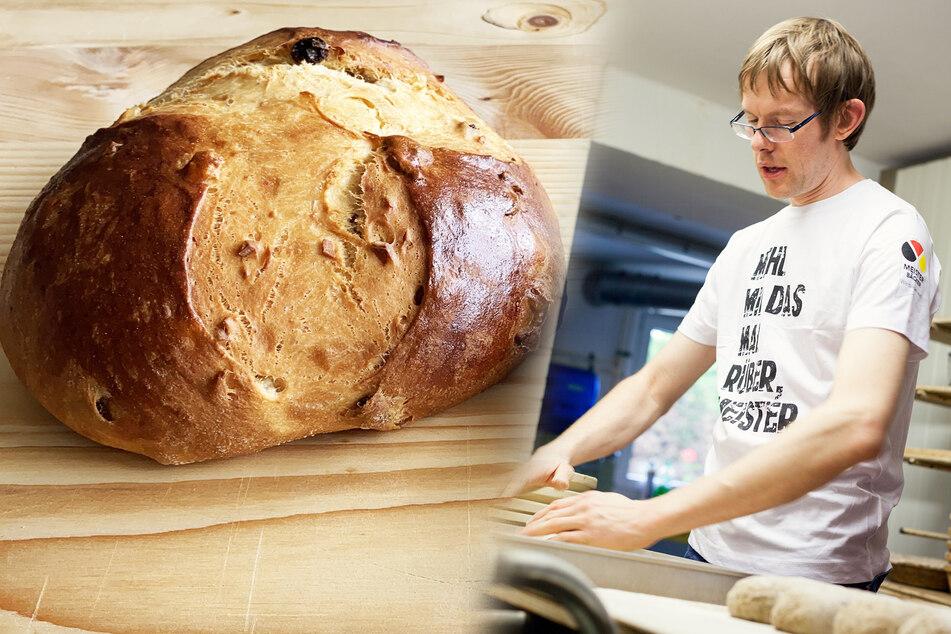 Das Osterbrot von Bäckermeister Stefan Richter kommt in ganz Deutschland gut an, dank der Deutschen Post.