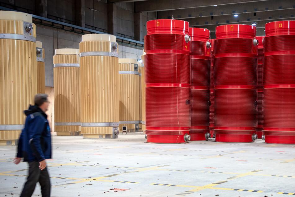In Gorleben in Niedersachsen gibt es schon seit mehr als zwei Jahrzehnten ein atomares Zwischenlager.