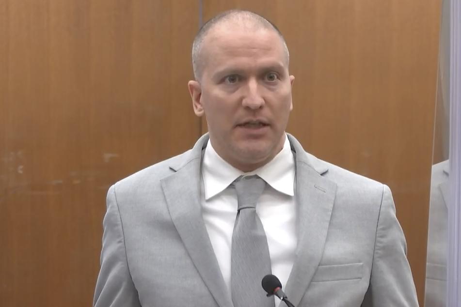 Der ehemalige Polizist Derek Chauvin wurde zu einer Haftstrafe von 22 Jahren und sechs Monaten verurteilt.