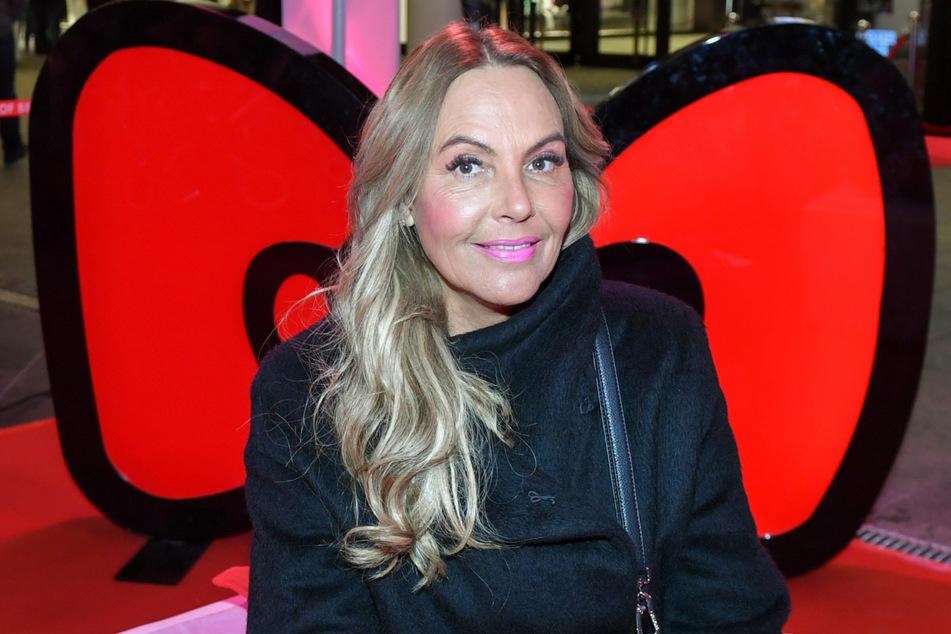 Natascha Ochsenknecht (56) auf der Party zu Hello Kittys 45. Geburtstag in der Mall of Berlin im November 2019.