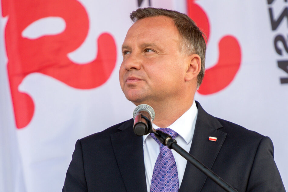 Ein Bewunderer Donald Trumps (74): Polens Präsident Andrzej Duda (48).