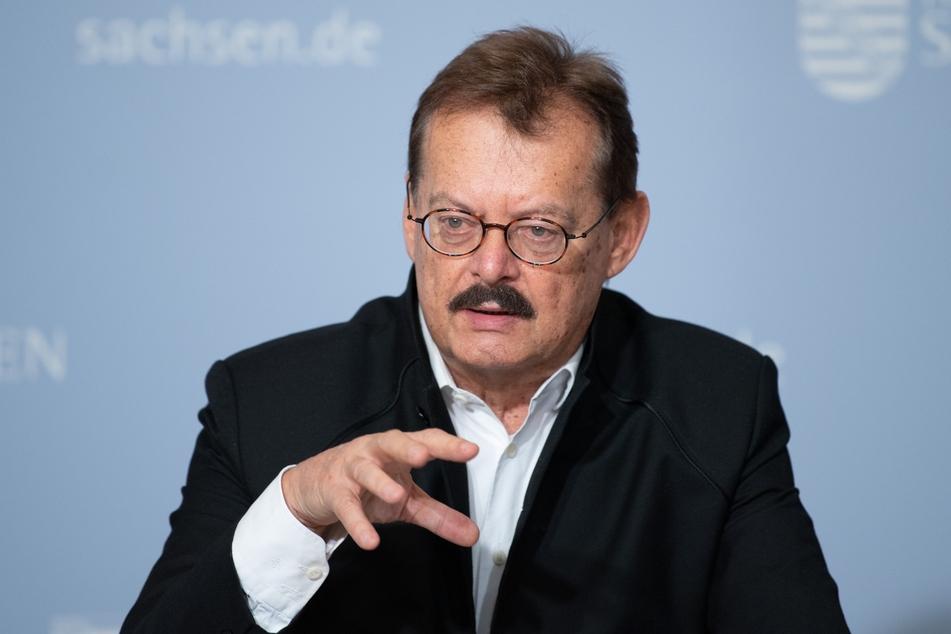 Der Medizinische Vorstand des Universitätsklinikums Dresden, Michael Albrecht (71).