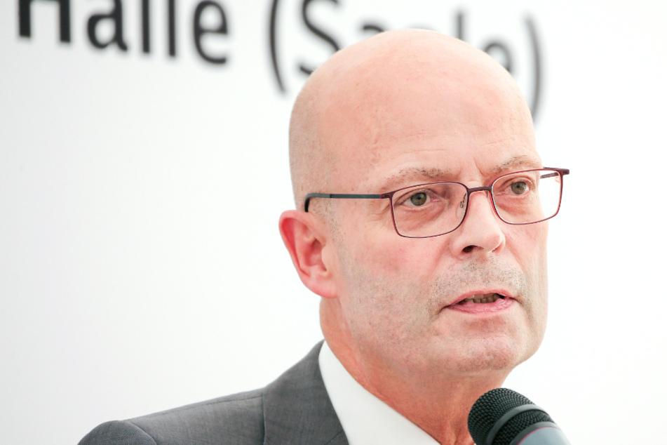 Halles Oberbürgermeister Bernd Wiegand (parteilos).