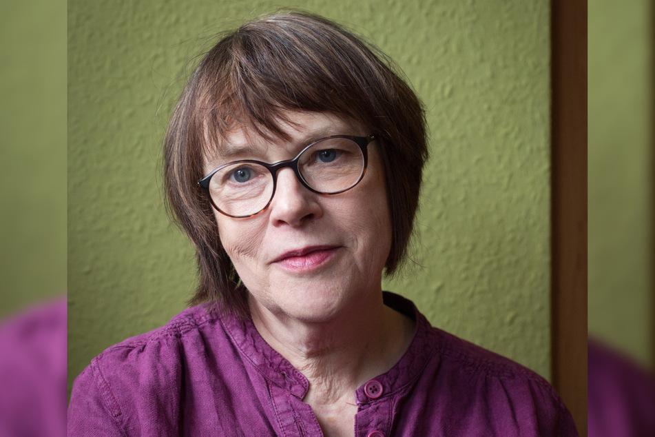 Autorin Kathrin Schmidt (63) ist Dresdens neue Stadtschreiberin.