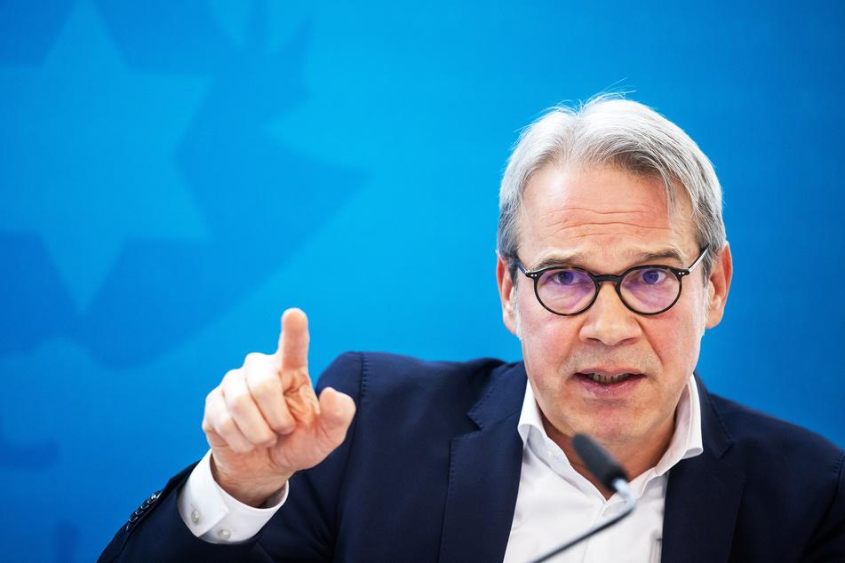 Thüringens Innenminister Georg Maier (53, SPD).