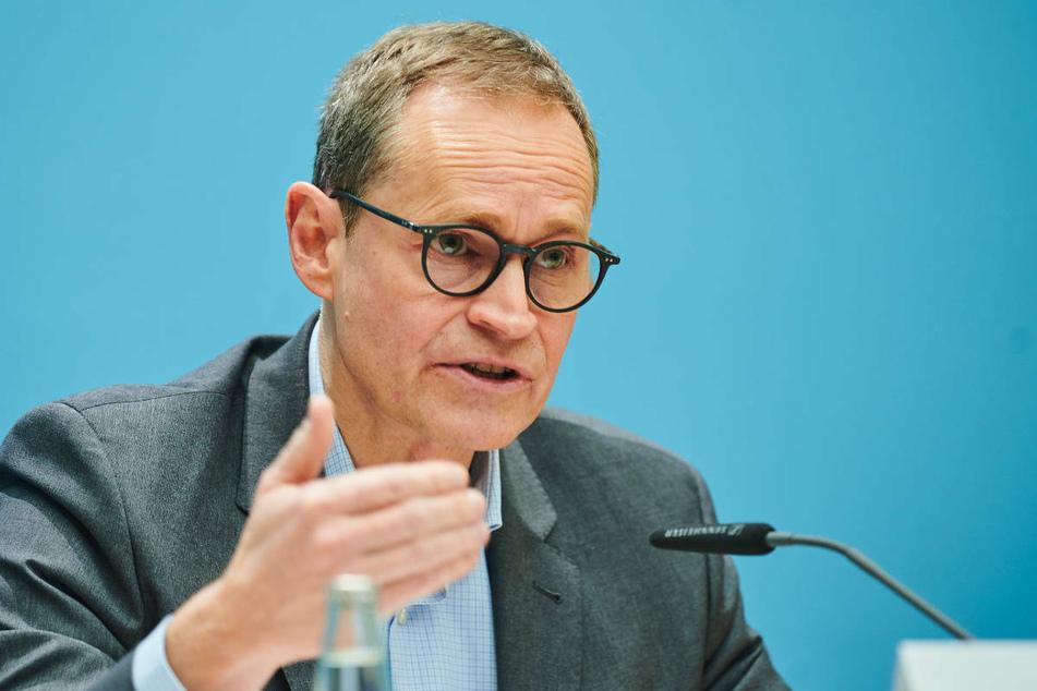 Aus Sicht von Berlins Regierendem Bürgermeister Michael Müller (56, SPD) gibt es wenig Möglichkeiten für Lockerungen der geltenden Corona-Maßnahmen.