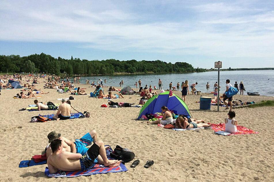 Der Cospudener See ist ein beliebtes Ziel vieler Leipziger. (Archivbild)