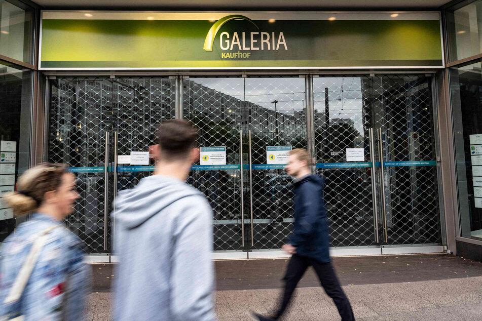 Galeria Kaufhof schließt einige Filialen.