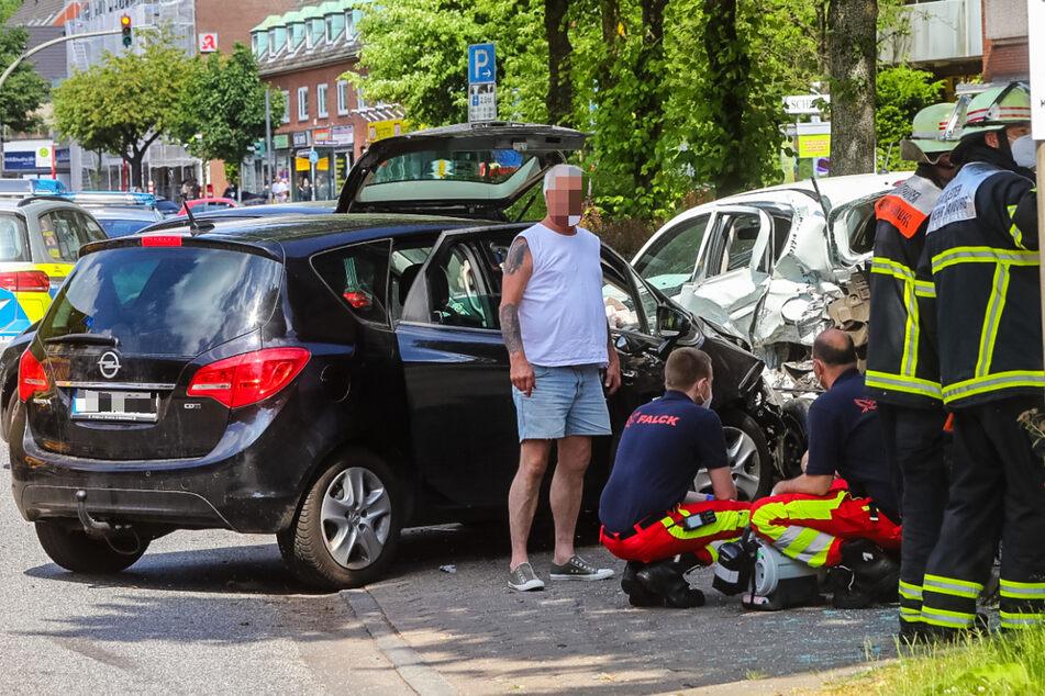 Bei dem Unfall in Hamburg kam ein vierjähriges Kind ums Leben.