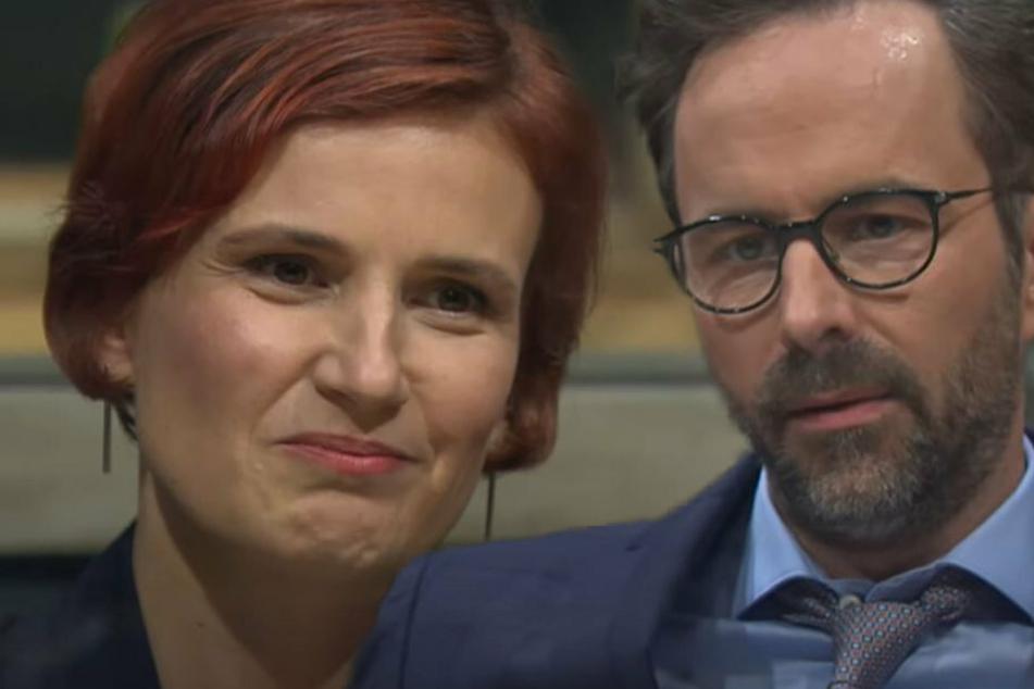 """Katja Kipping bei """"Chez Krömer"""": Kurt Krömer würde Linken-Partei auf links drehen"""