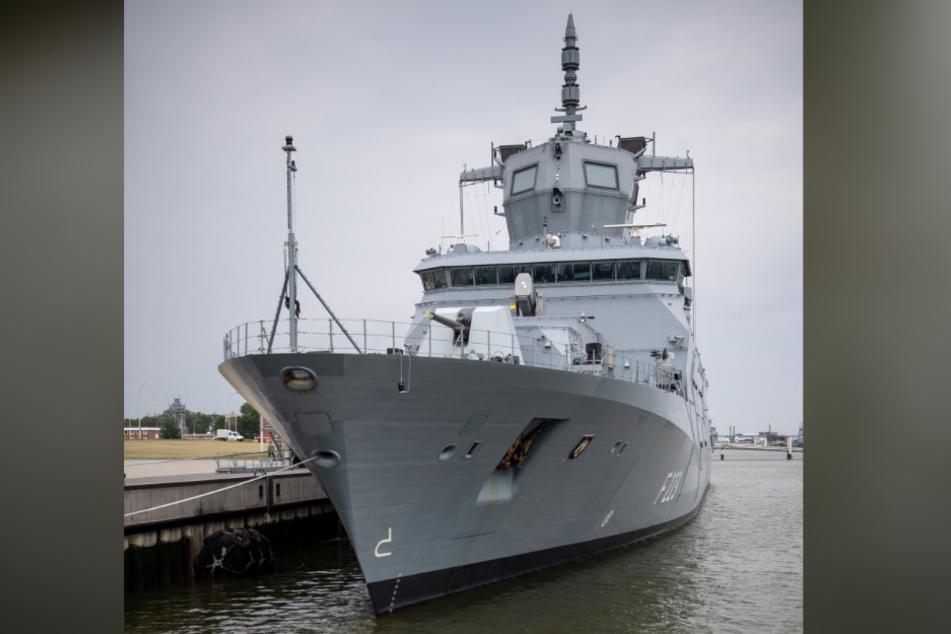 """Die """"Nordrhein- Westfalen"""" ist das Schwesterschiff der """"Baden-Württemberg"""", die vor einem Jahr in die Flotte aufgenommen wurde."""