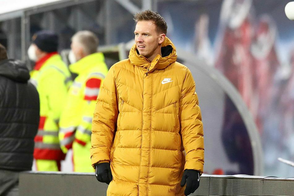 """RB-Trainer Julian Nagelsmann (33) verbringt nach dem Augsburg-Match ein paar Tage im """"kleinen, legalen"""" Kreis mit seiner Familie."""