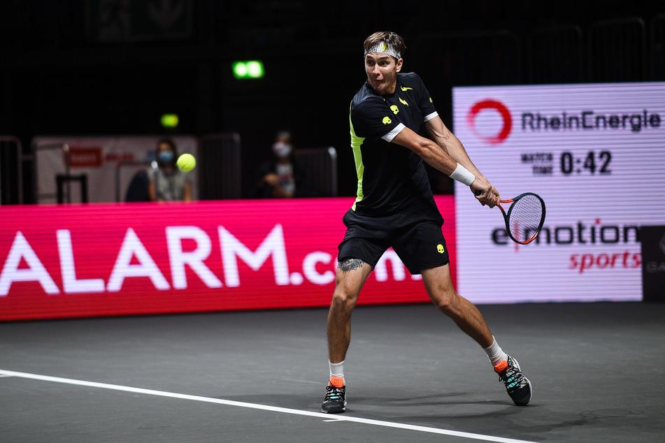 Bitter: Tennis-Lehrstunde und Aus in Runde eins für Daniel Altmaier