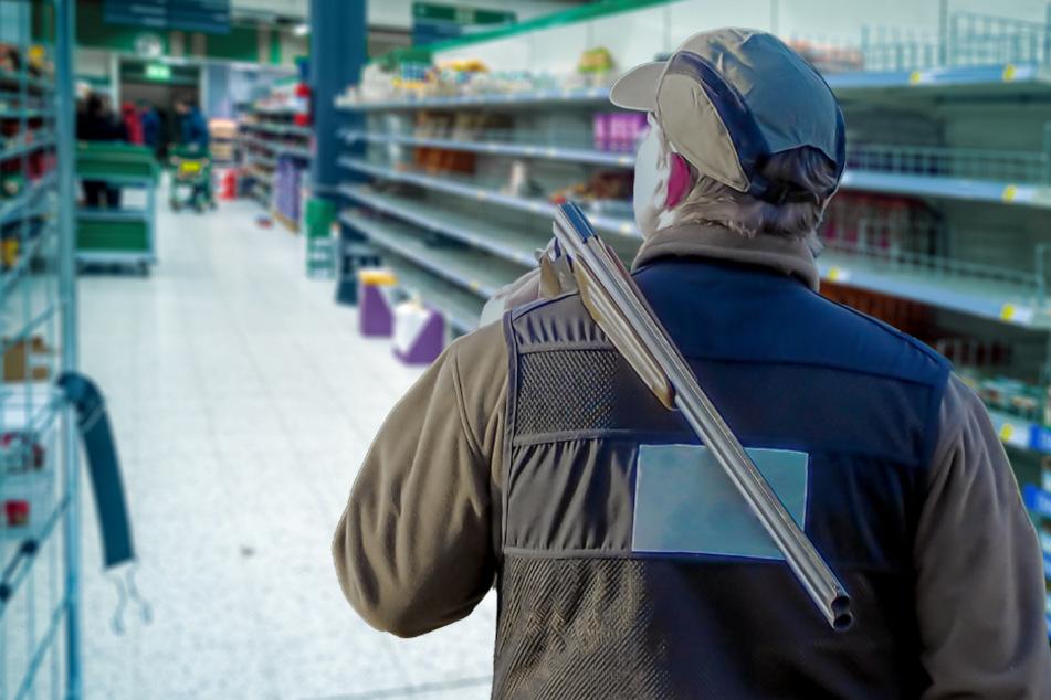 Schütze eröffnet in Supermarkt unvermittelt das Feuer