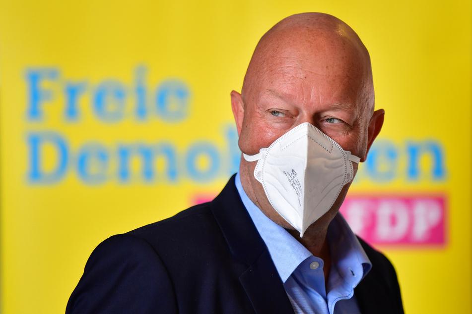Thomas Kemmerich (56, FDP) wurde im Februar 2020 mit Hilfe der Stimmen der AfD zum Thüringer Ministerpräsidenten gewählt.