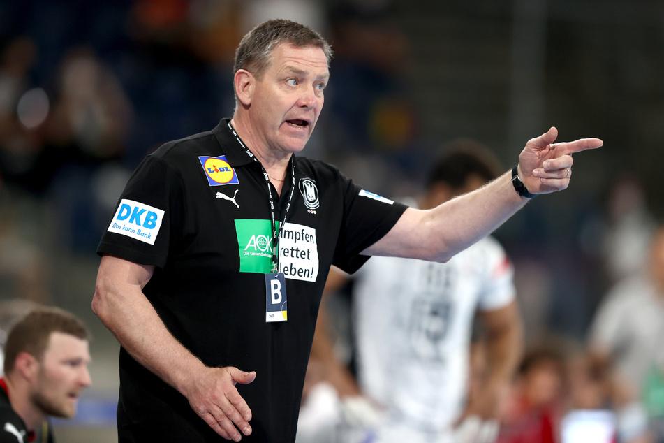 Deutschlands Handball-Bundestrainer, Alfred Gislason (61).