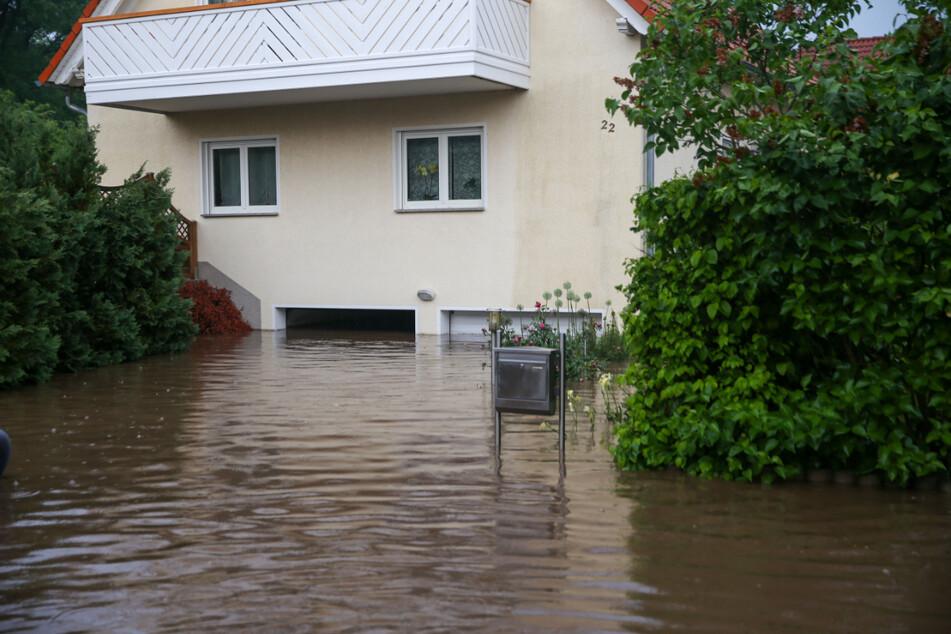 """Unwetter wütet in Thüringen: Wassermassen kommen """"aus Toilette und Dusche raus"""""""