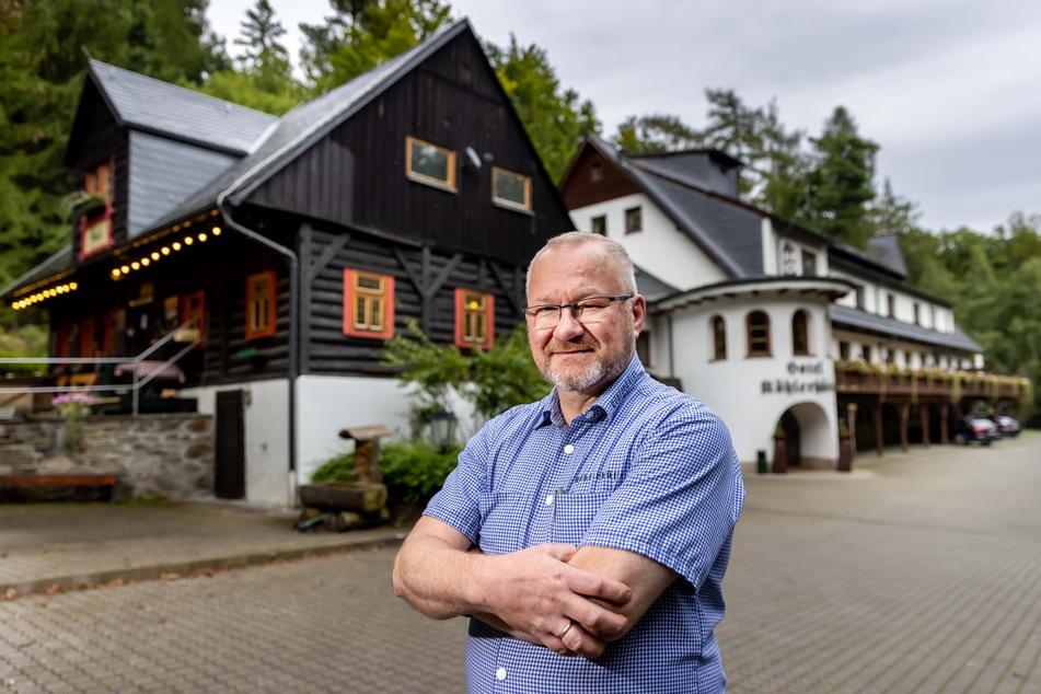 """""""Köhlerhütte""""-Chef Heiko Schmidt (55) hält nichts vom 2G-Modell."""