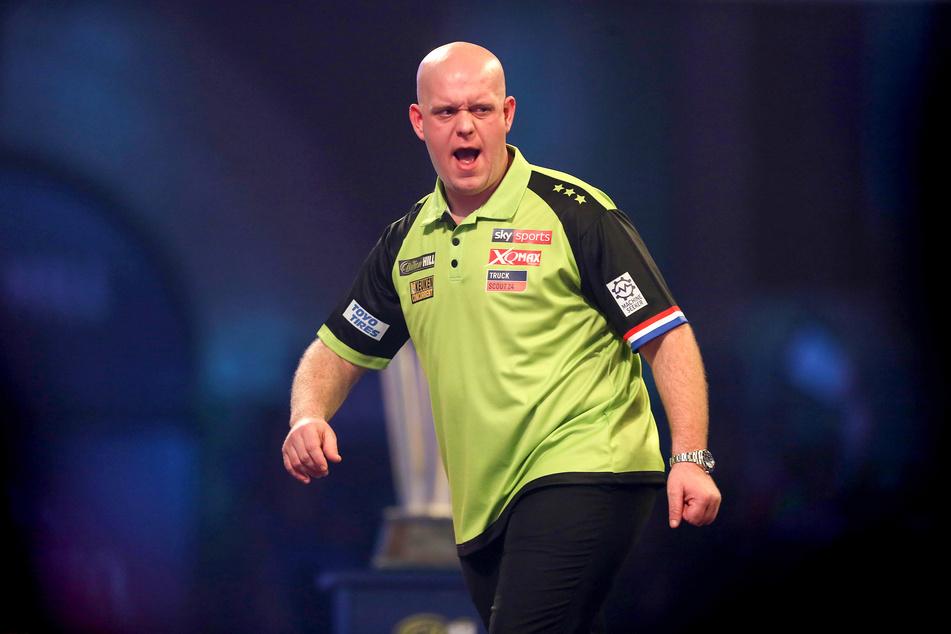 Schummel-Vorwürfe gegen Darts-Superstar van Gerwen