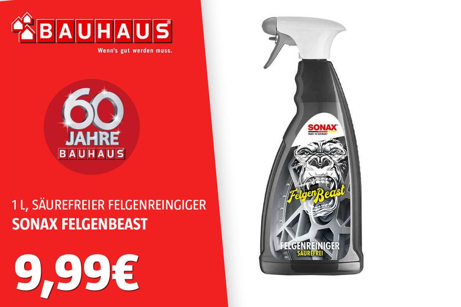 Sonax Felgenbeast für 9,99 Euro.