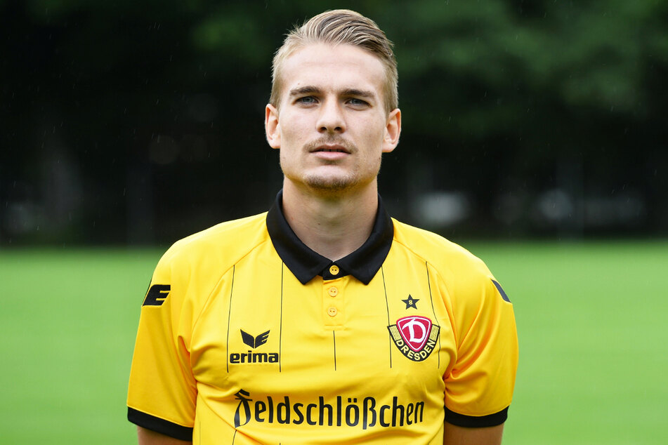 Ex-Dynamo Luca Dürholtz (27) traf am Samstag beim spektakulären 4:3-Sieg der SV 07 Elversberg gegen den Bahlinger SC.