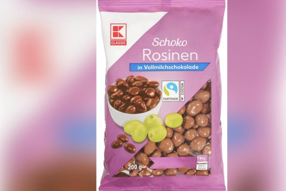 Achtung! Hersteller ruft Schoko-Rosinen von Kaufland zurück