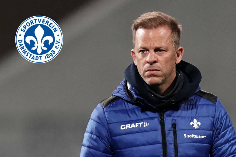 """""""Mehr können wir nicht tun"""": Nach Heimpleite viel Frust beim SV Darmstadt 98"""