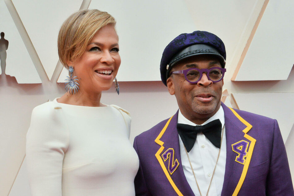 Wife Tonya Lewis Lee and Spike Lee at the Oscars in February 2020.
