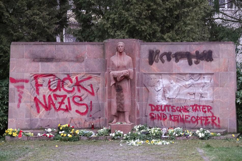 Chemnitz: Chemnitz: Mahnmal für Bombenopfer geschändet