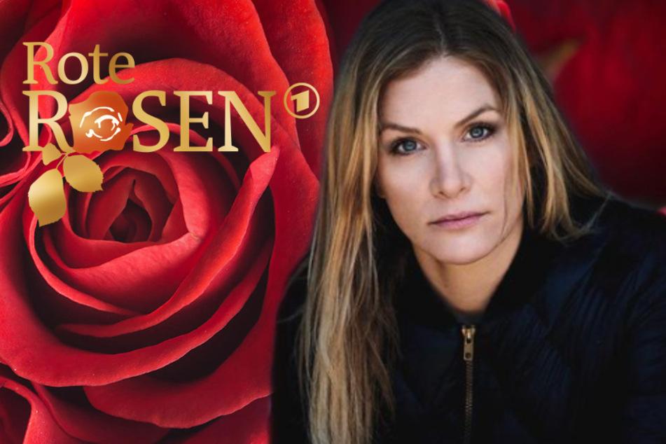 """Laura Preiss (34) verkörperte in der Serie Rote Rosen """"Vicky Parker""""."""