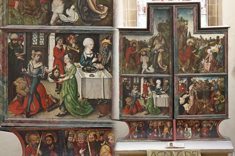 Blutige Henkerszene: Stammt dieses Altarbild von Albrecht Dürer?