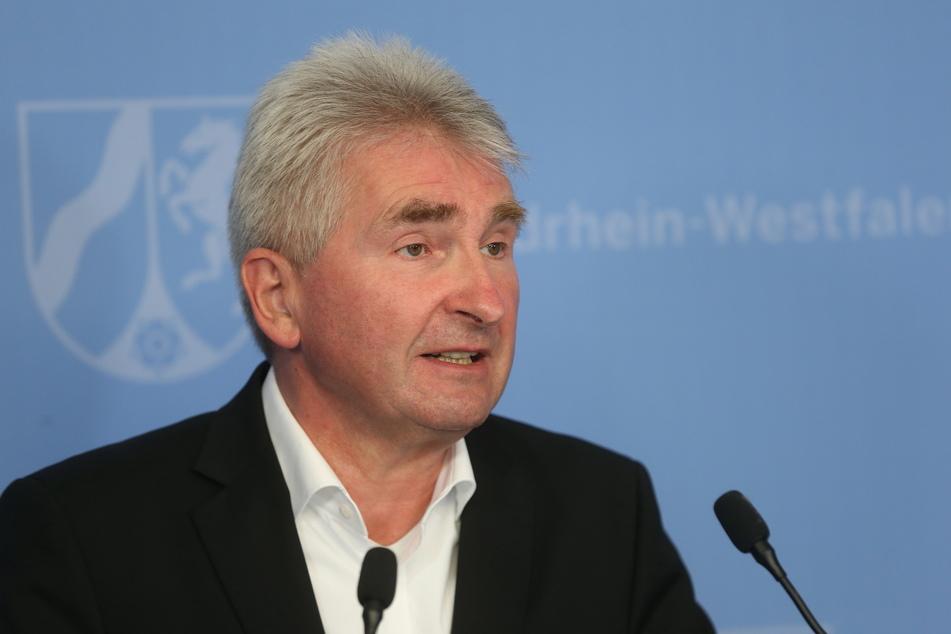 Bei einer Pressekonferenz stellte Andreas Pinkwart (60, FDP) die neue NRW-Tourismuskampagne vor.
