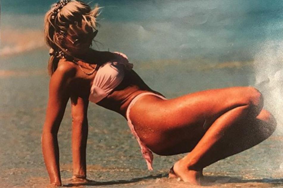 Diese prominente Bikini-Schönheit erkennt Ihr garantiert nicht!