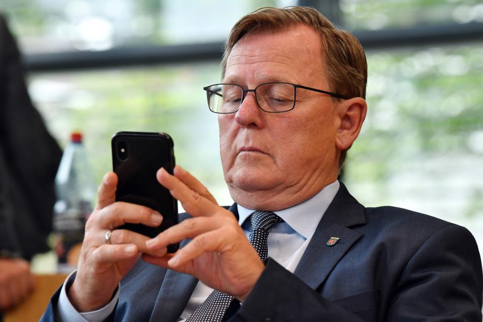 Bock oder keine Bock auf Neuwahlen? Thüringens Ministerpräsident Bodo Ramelow (65, Linke) muss für eine Auflösung des Landtags kämpfen.
