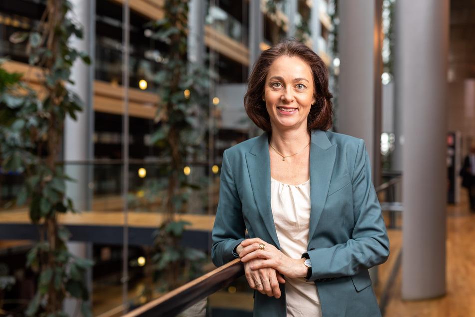 Katarina Barley (52, SPD), Mitglied der Fraktion der Progressiven Allianz der Sozialdemokraten, verärgerte ARD-Zuschauer.
