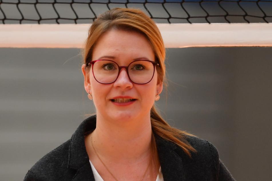 DSC-Geschäftsführerin Sandra Zimmermann.