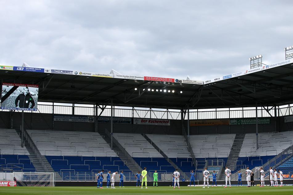 Das Stadion des 1. FC Magdeburg muss womöglich nicht mehr komplett leer bleiben.