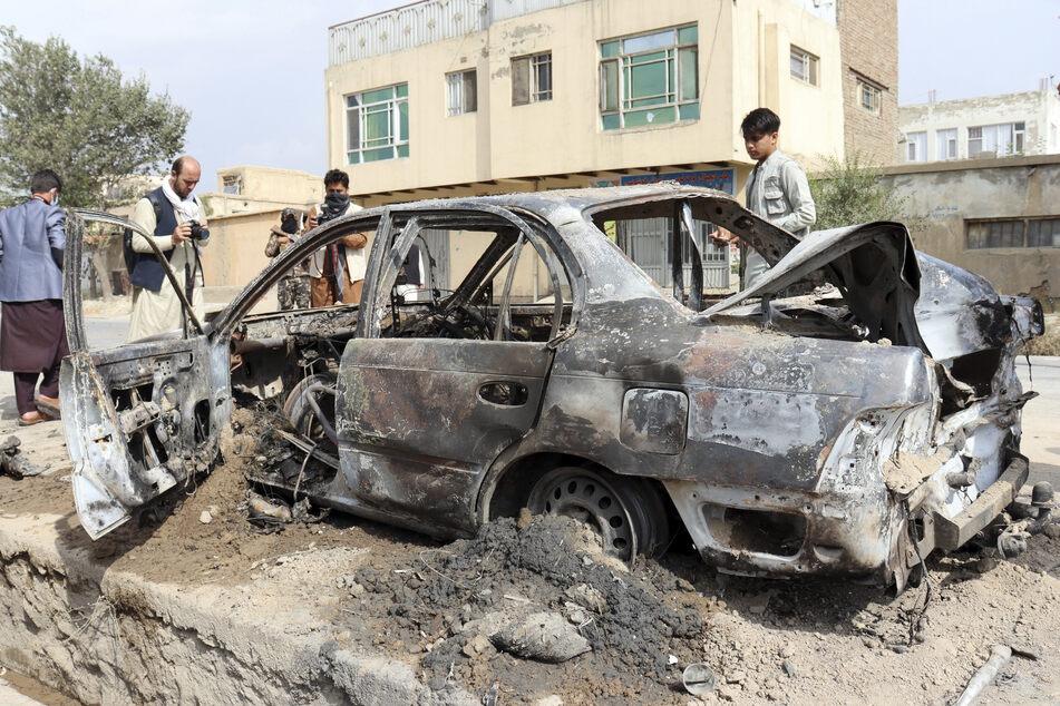 Terror liegt in den Genen der Taliban-Herrschaft: Bei einem Autobomben-Anschlag wurde 2018 Afzalis Vater schwer verwundet.