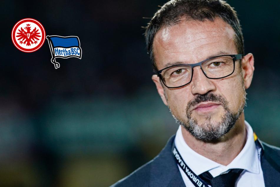 Wechsel zur Hertha? Das sagt Eintracht-Sportchef Bobic zu den Gerüchten