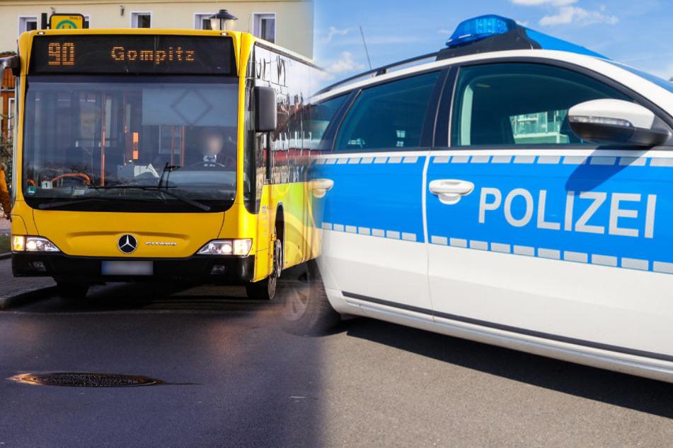 Der Täter und das Opfer fuhren im Bus mit der Linie 90. (Bildmontage).