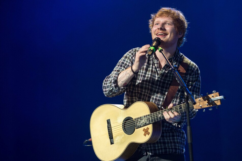Ed Sheeran (29): a pop star, and now a father.