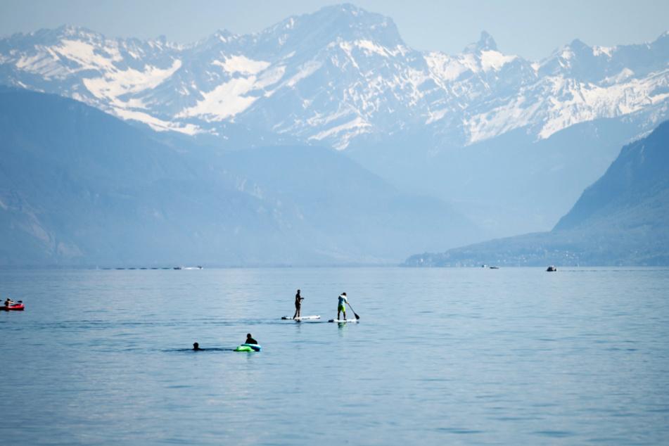 Das Mädchen wurde tot im Genfer See entdeckt.