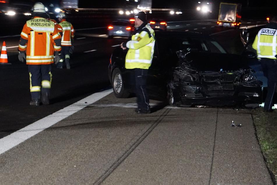 Schwerer Unfall mit mehren Autos auf der A81