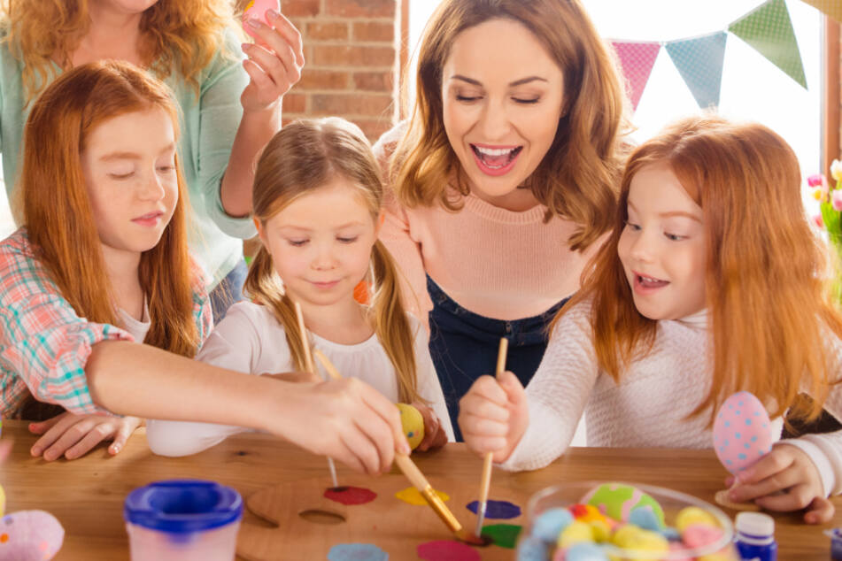 Kreatives Werken: Hier werden die Kleinsten die größte Freude haben (Symbolbild).
