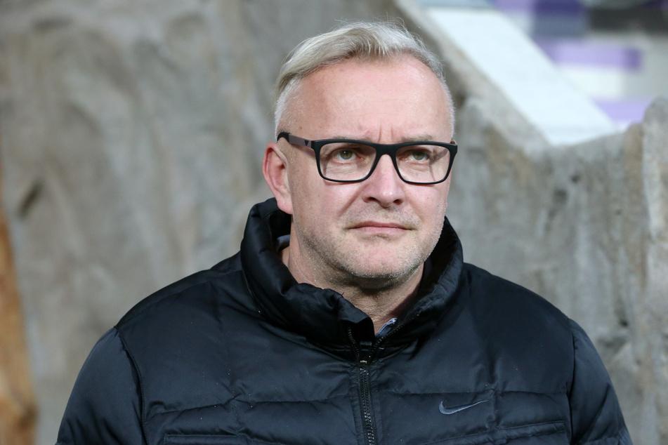 FCE-Geschäftsführer Michael Voigt will Steve Breitkreuz nicht fallen lassen.