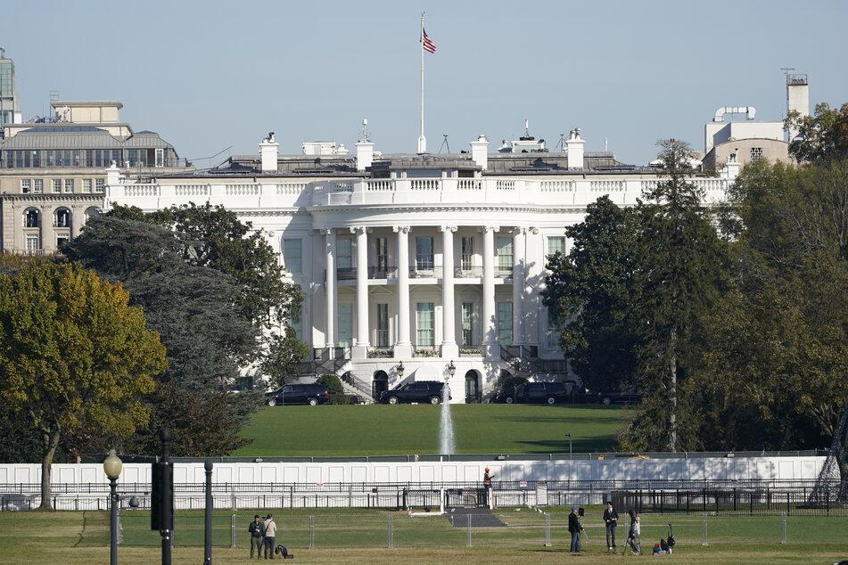 Blick auf das Weiße Haus in Washington.