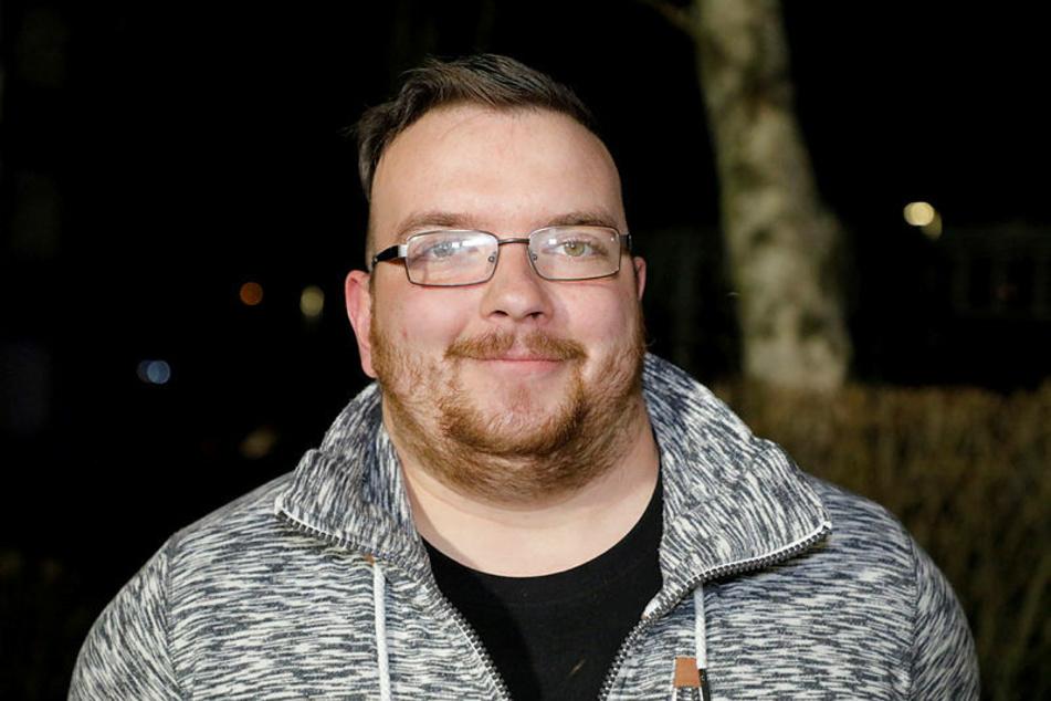 Wurde am Mittwochabend zum Helden: Patrick Otto (25).