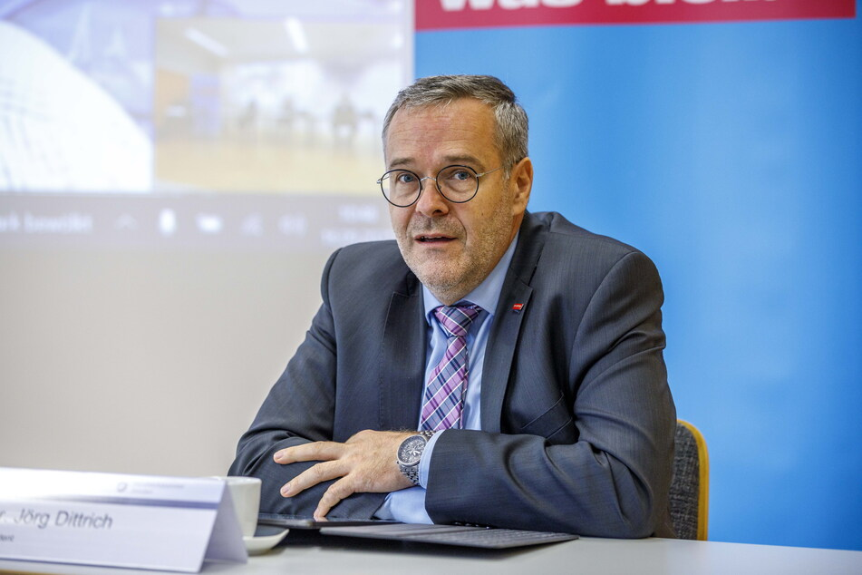 Der Dresdner Handwerkskammer-Präsident Jörg Dittrich (52).